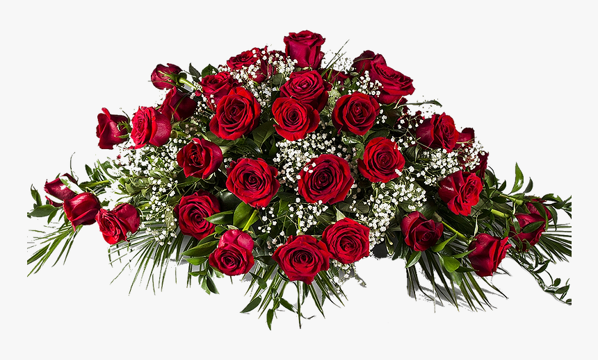 Funeral Flowers Png - Red Roses Funeral Flowers, HD Png Download - kindpng