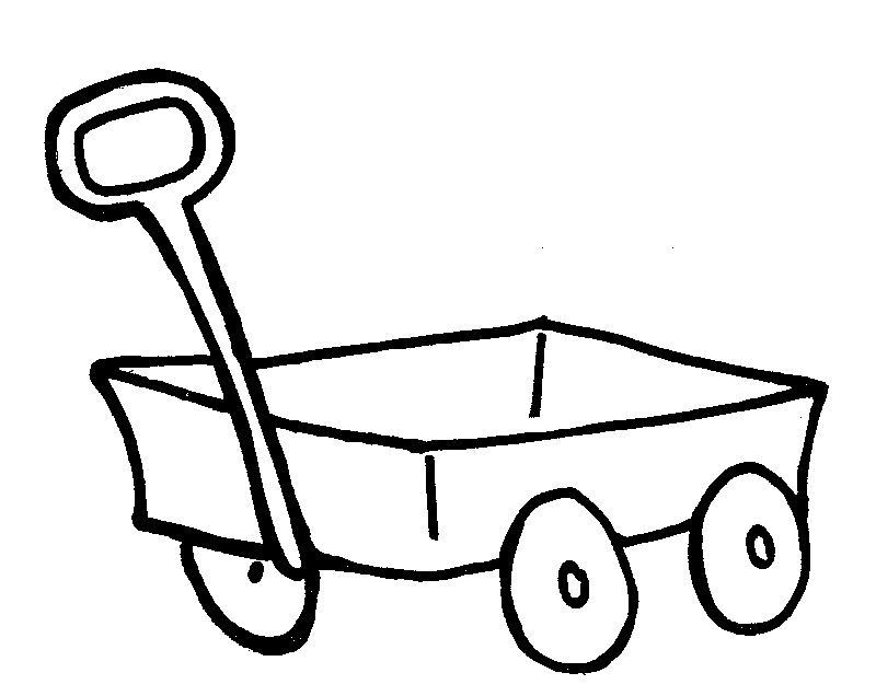 Red Wagon Coloring Page Coloring Pages 146905 Png Images Pngio