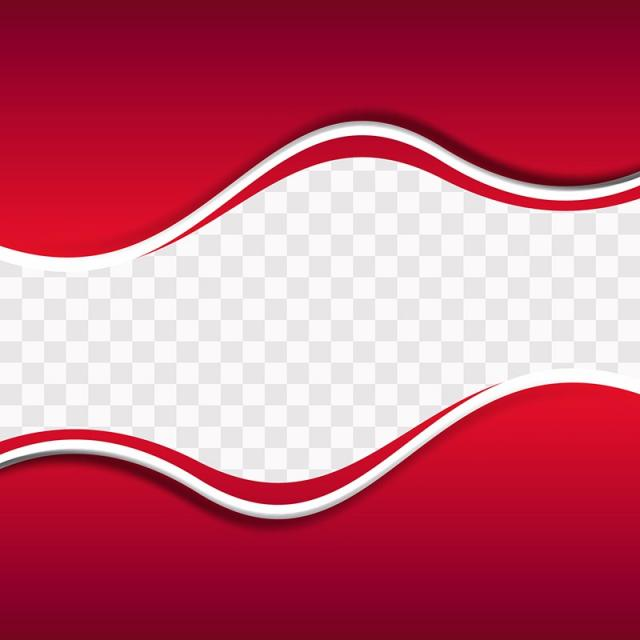 Red Wavy Shapes On Transparent Backgroun 1120111 Png Images Pngio