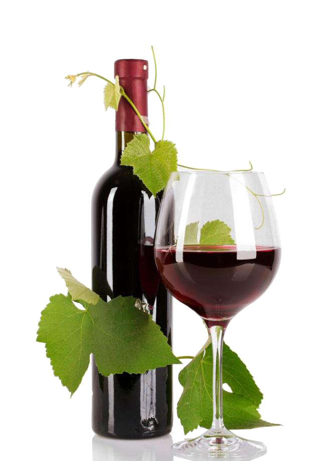 Wine Bottle And Grapes Png - Red Wine Bottle Common Grape Vine - Red Wine png download - 650 ...