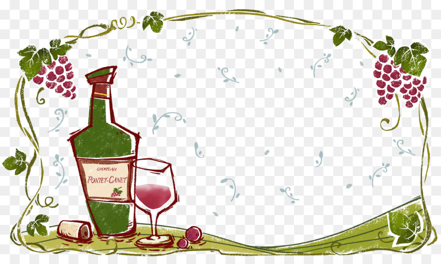Wine Png Borders - Red Wine Computer file - Red wine border png download - 4962*2952 ...