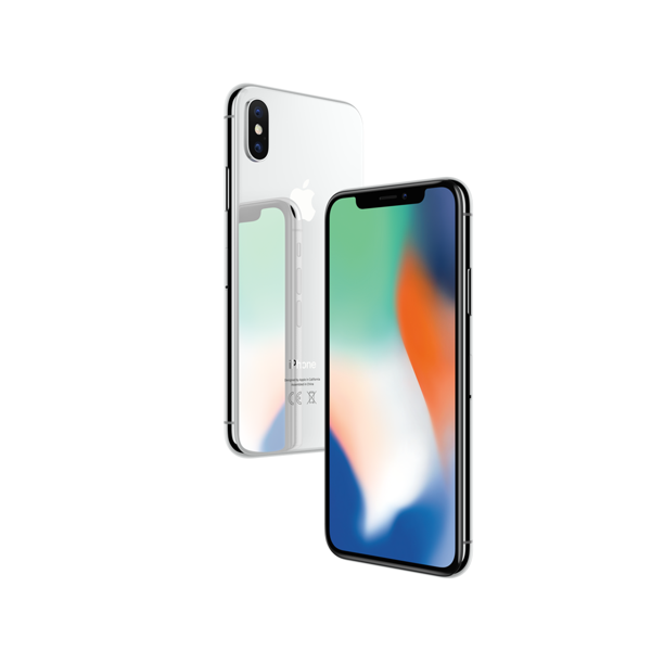 Apple Iphone X  256 Gb  Silver  Unlocked  Gsm Png - Refurbished Apple iPhone X 256GB, Silver - Unlocked GSM - Walmart ...