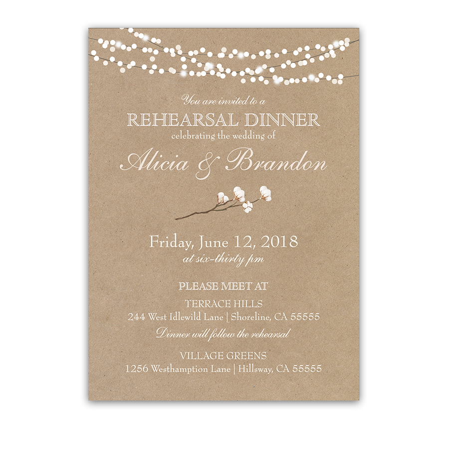 Rehearsal Dinner Png - Rehearsal Dinner Invite Transparent & PNG Clipart Free Download - YWD