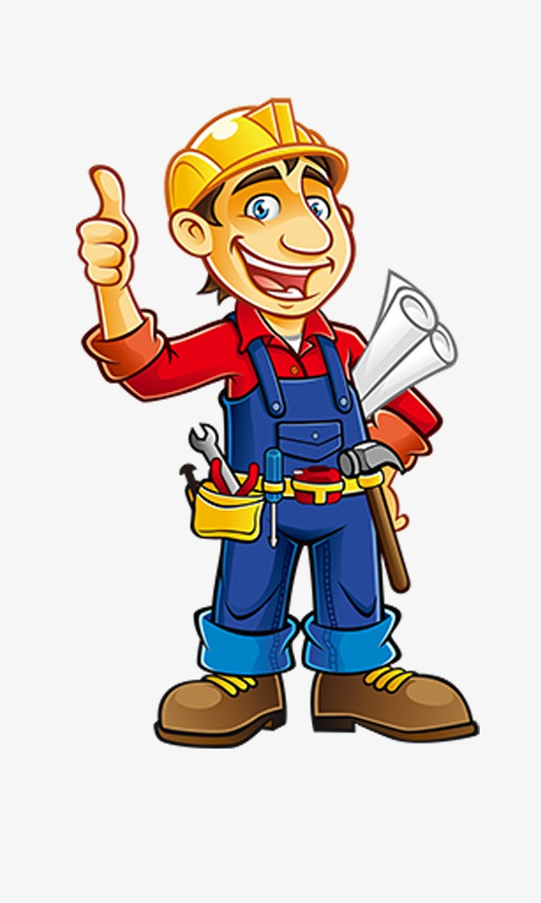 Free Png Renovations - Renovation Worker,cartoon, Cartoon Clipart, Renovation Worker ...