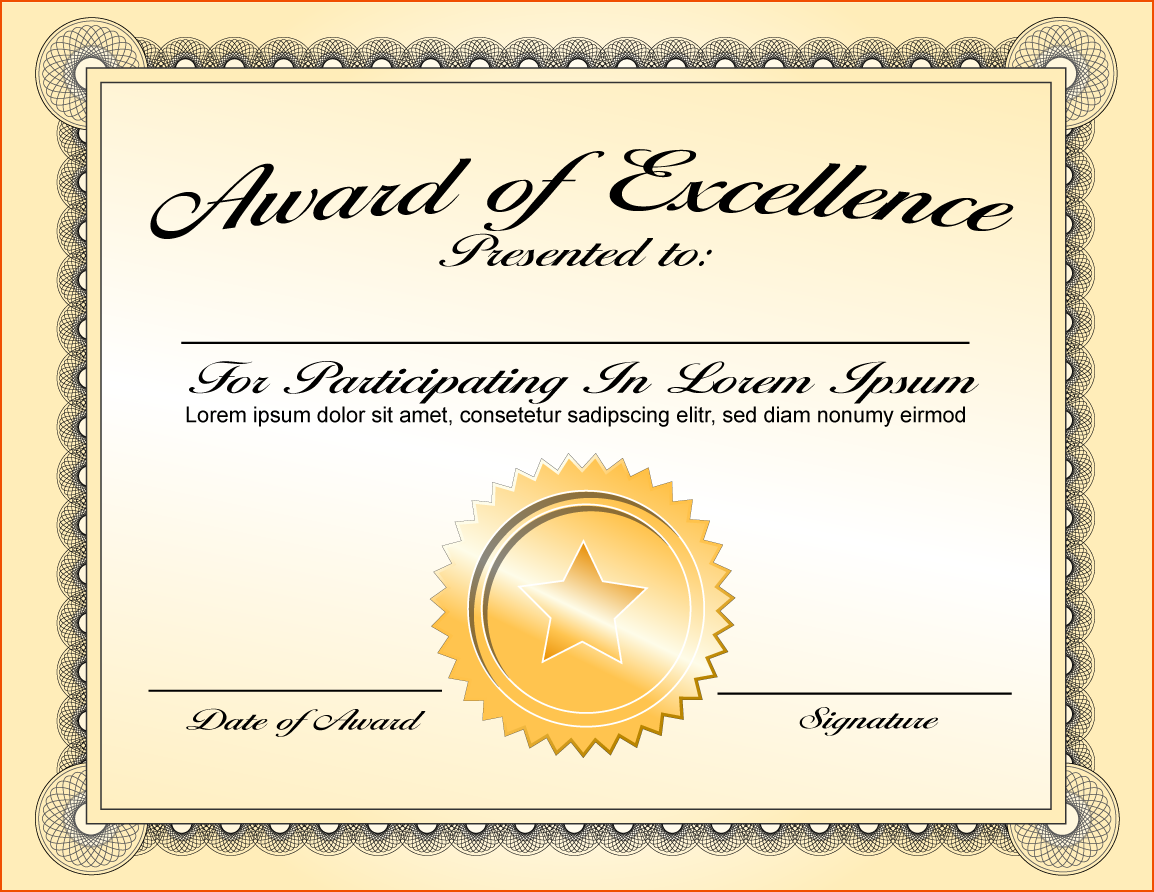 Recognition Certificate Template Free from img.pngio.com