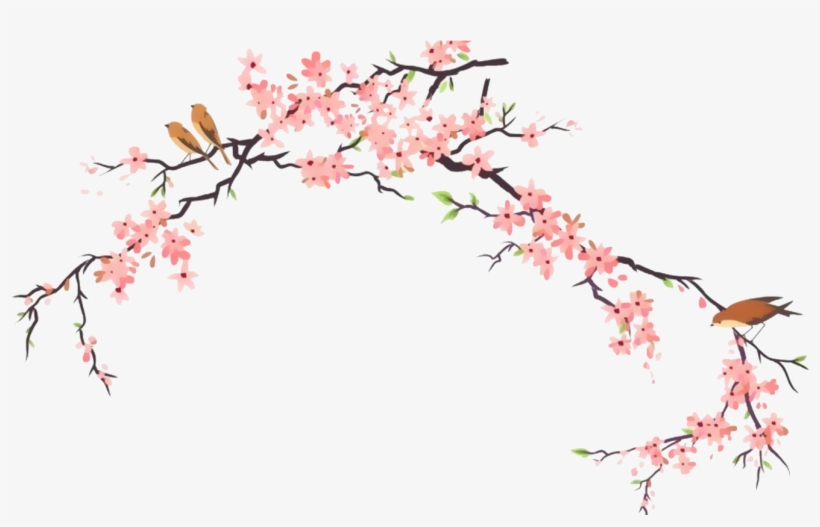 Report Abuse Japanese Cherry Blossom D 1568673 Png Images Pngio