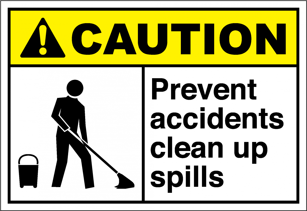 Report All Spills Caution Png - Report All Spills Caution Clipart & Clip Art Images #9256 ...