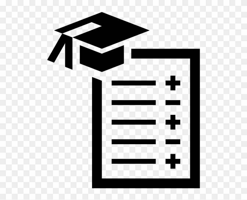 Grading In Education Png - Report Card Grading In Education School Student - Black And White ...