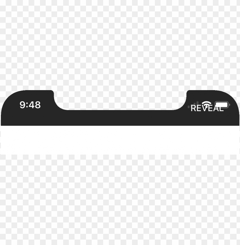 İphone Status Bar Png - reproduction steps - iphone x status bar PNG image with ...
