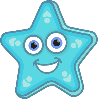 Animated Starfish Png - Requesting 2D Cartoony Underwater Graphics | OpenGameArt.org