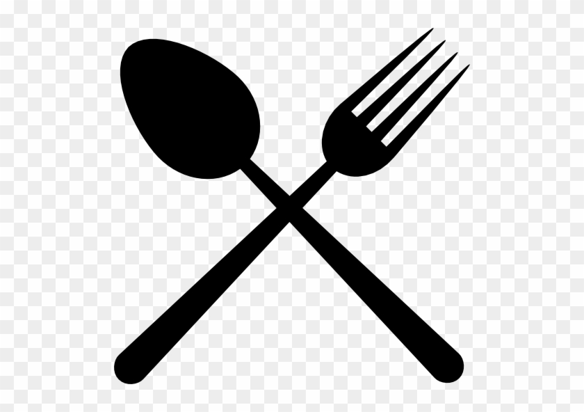 Crossed Fork And Spoon Png - Restaurant Clipart Spoon Fork Crossed - Spoon And Fork Logo Png ...