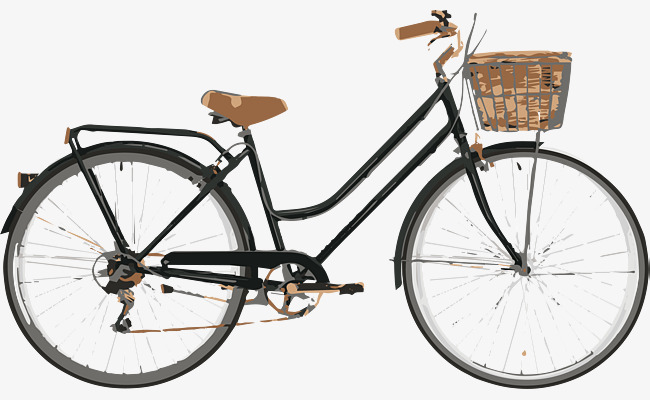 Bicycle Png - retro vintage bike, Vector Png, Bicycle, The Old Bicycle PNG and Vector