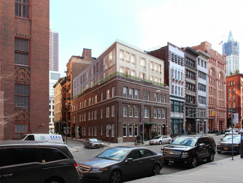 Hudson Street Png - Reveal for 50 Hudson Street, Vertical Expansion Coming to Tribeca ...