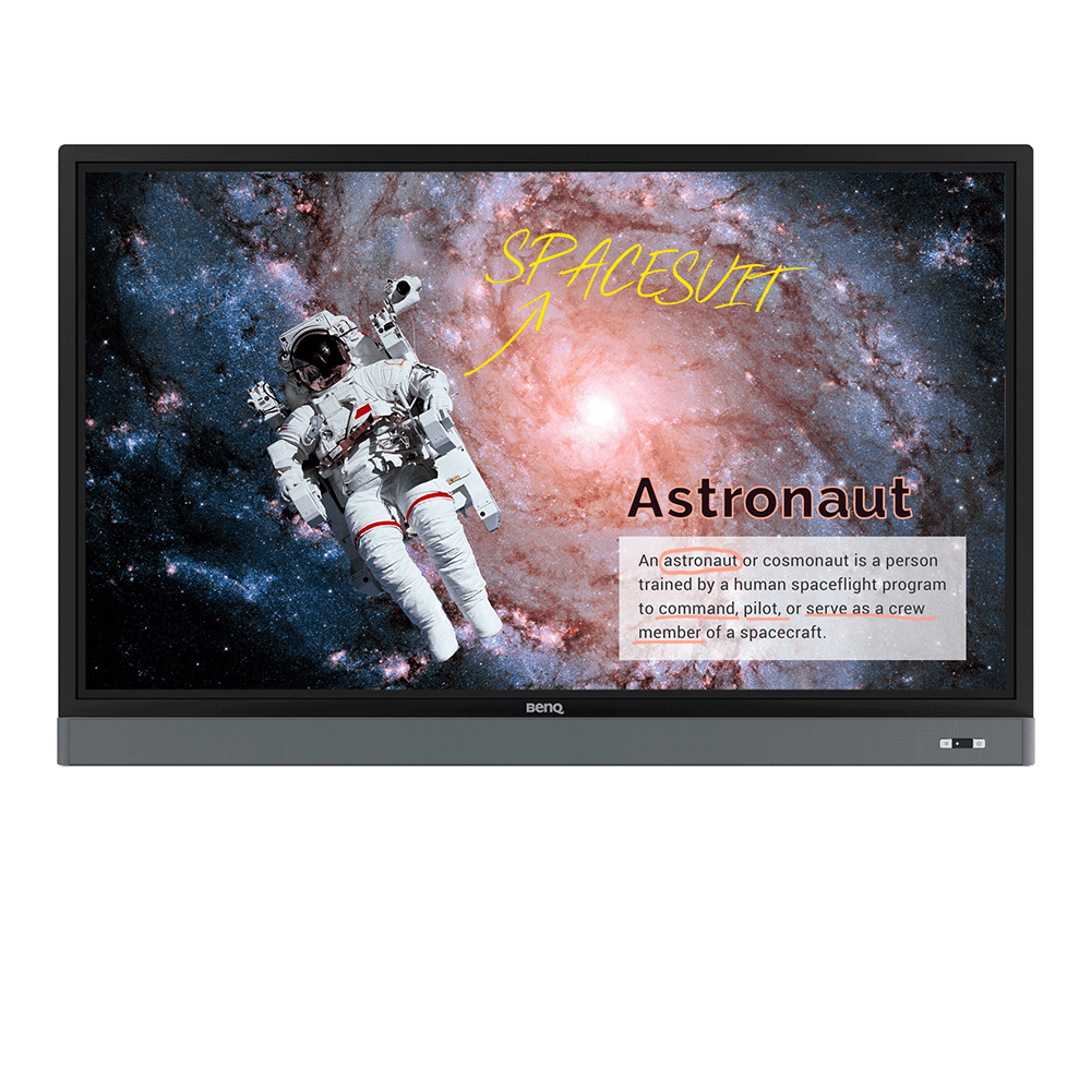 """Astronomy Class Png Transparent - RM6501K 65"""" Education Interactive Flat Panel"""
