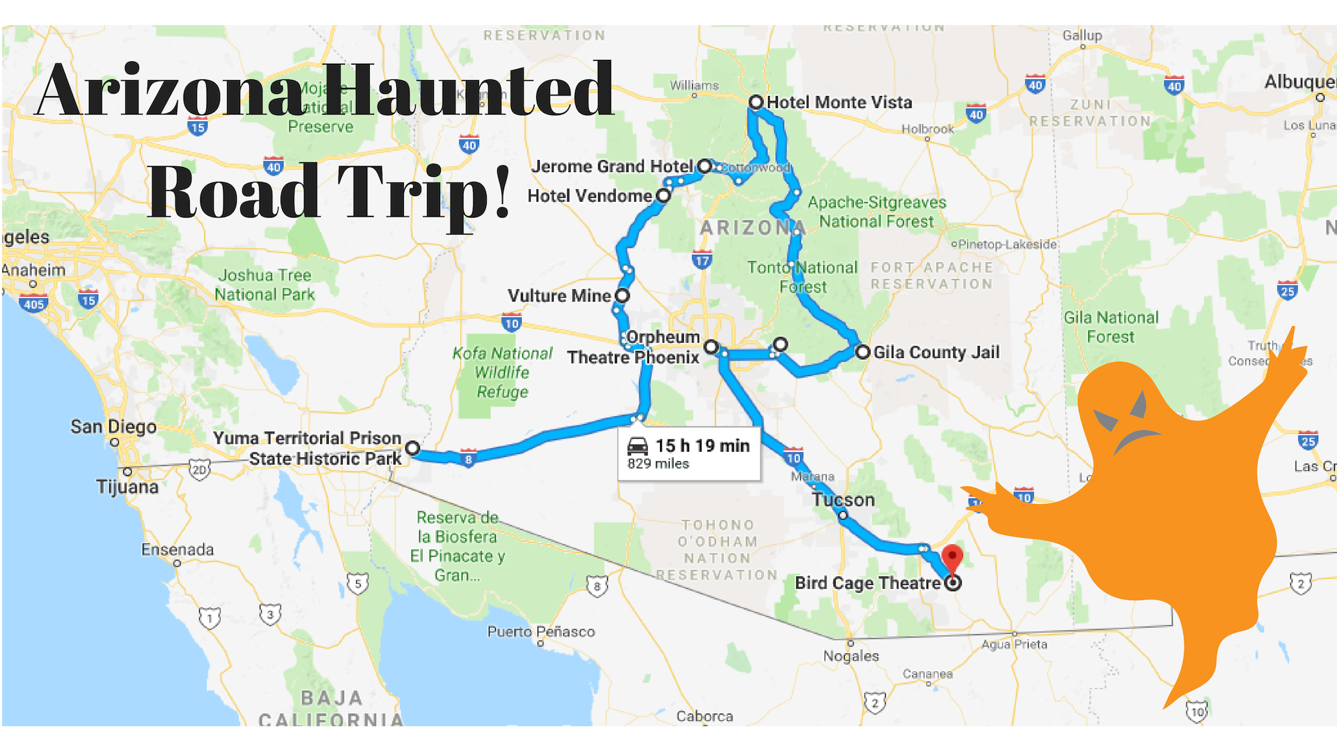 Haunted Road Png - Road Trip To The Ten Most Haunted Places In Arizona
