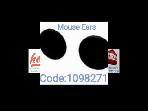 Bunny Ears Roblox Code Mouse Ears Roblox Free Mouse Ears Roblox Png Transparent Images 43795 Pngio