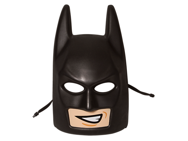 Batman Mask Png - Role-play scenes from THE LEGO® BATMAN MOVIE with this LEGO minifigure head-