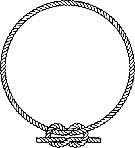 Nautical Rope Knot Png - Rope Divider Transparent & PNG Clipart Free Download - YWD