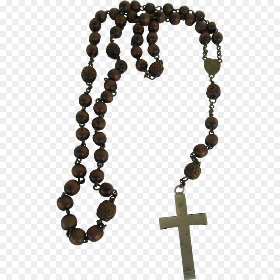 Prayer Beads Png - Rosary Prayer Beads Jewellery - Beads #56465 - PNG Images - PNGio