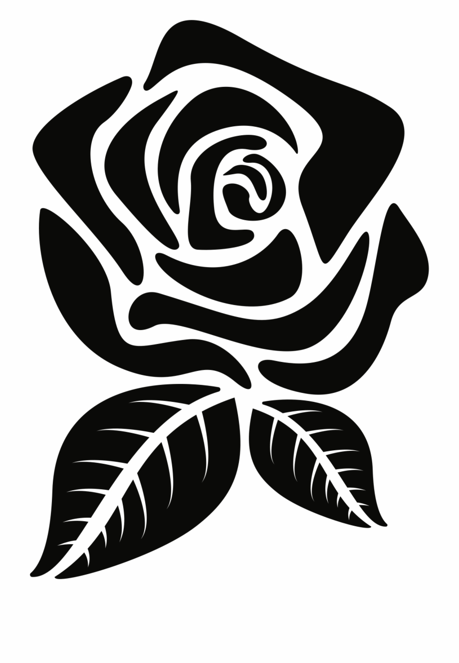 Rose Silhouette Png - Rose Silhouette Png - Rose Flower Silhouette Png Free PNG Images ...