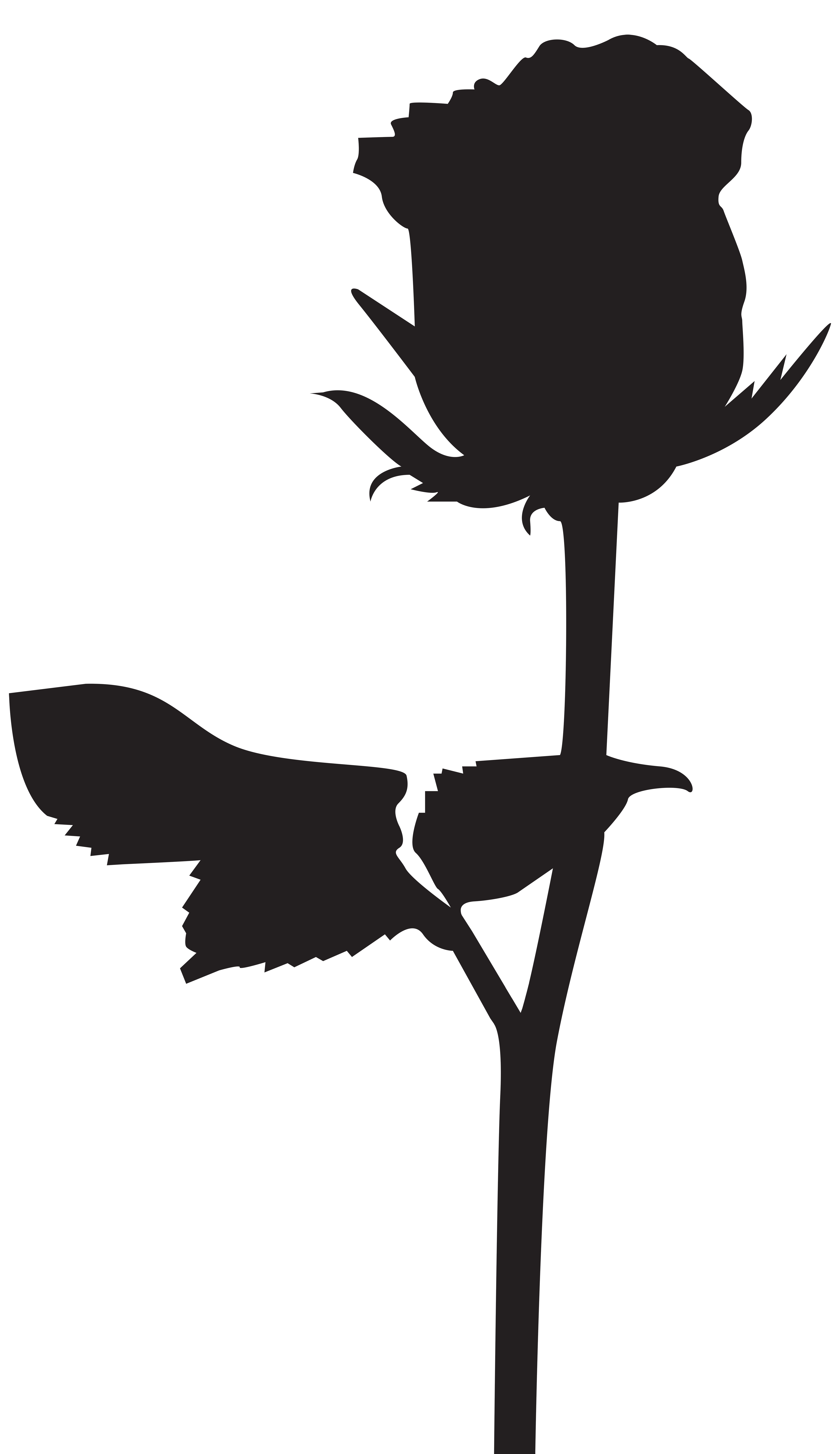 Rose Silhouette Png - Rose Silhouette PNG Transparent Clip Art Image   Gallery ...