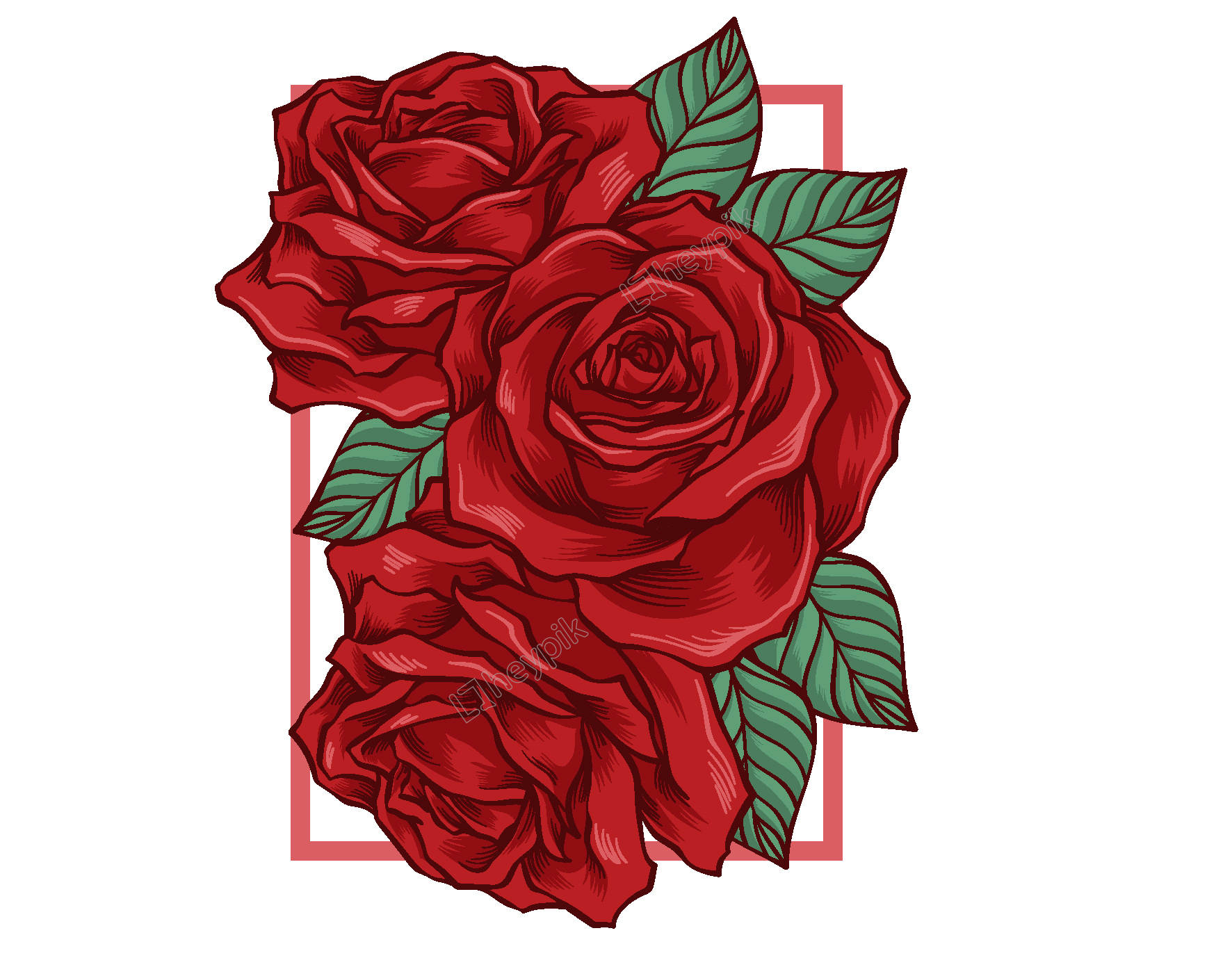 Rose Vector Png - Rose Vector Png (75+ images)