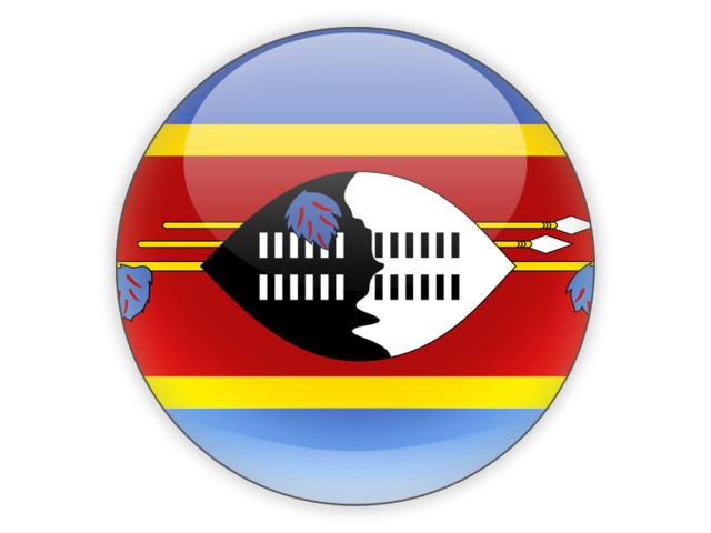 Swaziland Png - Round icon. Illustration of flag of Swaziland