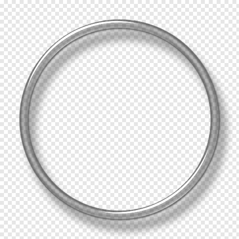 Silver 3d Circle Png - Round ring illustration, Cross-stitch Computer Icons Underwater ...