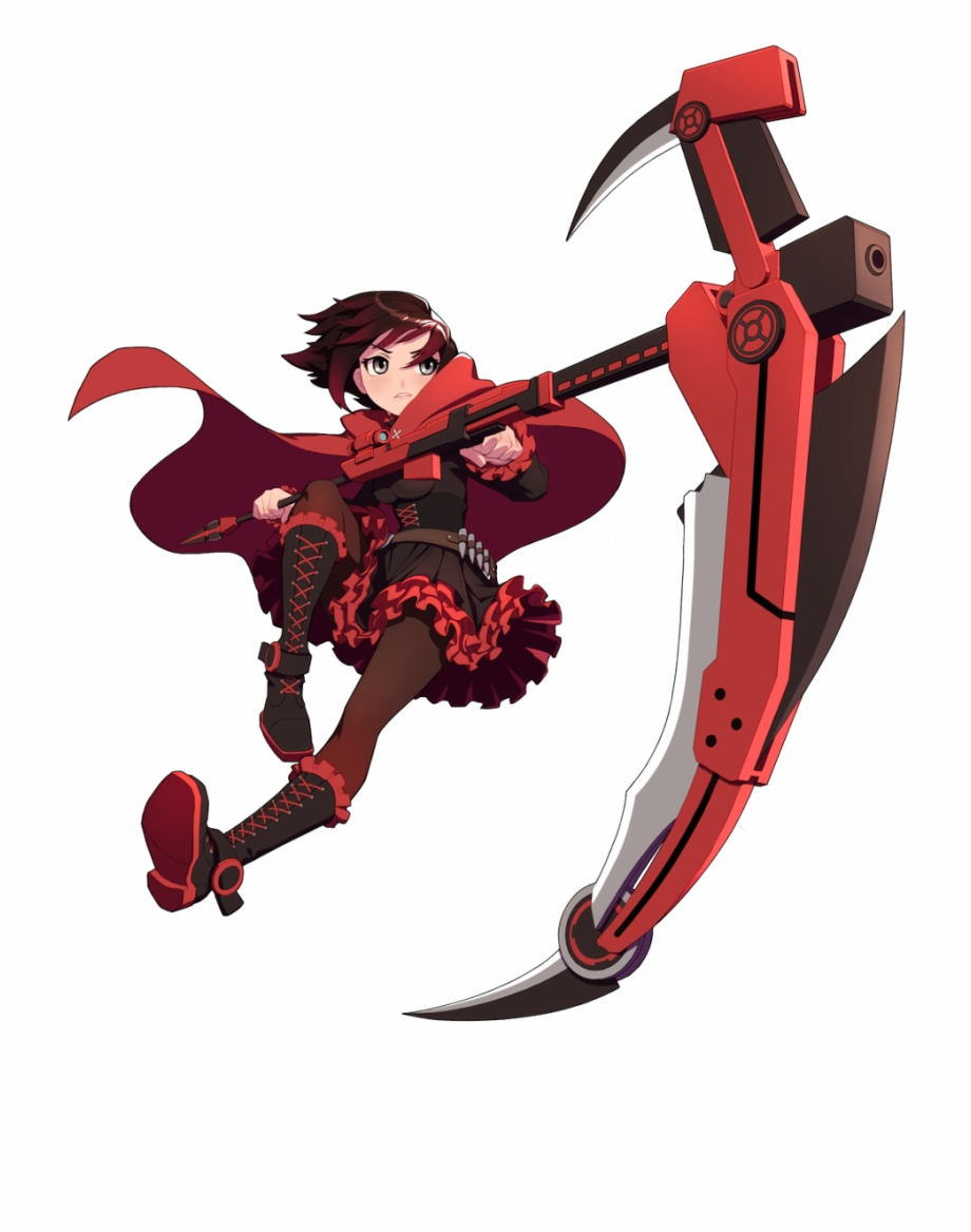 Rwby Ruby Png - Ruby Rose - Rwby Amity Arena Art Free PNG Images & Clipart ...