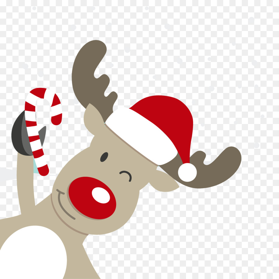 Christmas Rudolph Png - Rudolph Reindeer Santa Claus - Christmas #257311 - PNG Images - PNGio
