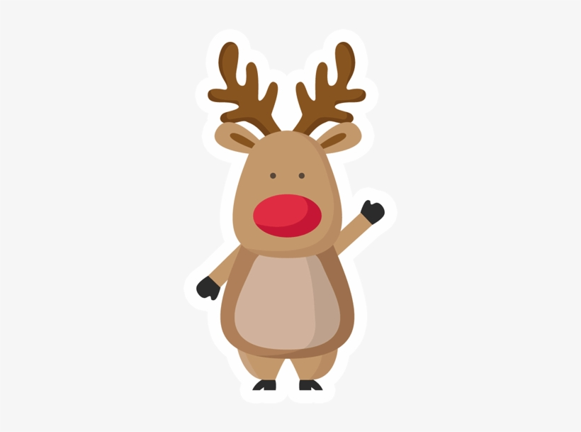 Christmas Deer Png - Rudolph The Red Nosed Reindeer Png Download Image - Christmas Deer ...