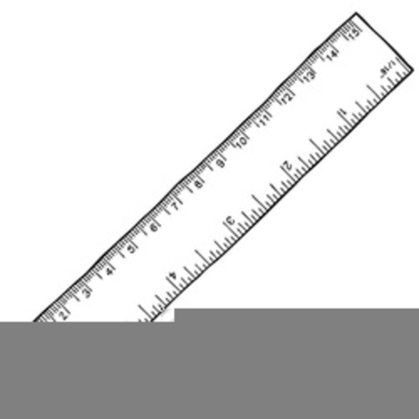 Ruler Black And White Png - Ruler Clipart Black And White | Free Images at PNGio - vector ...