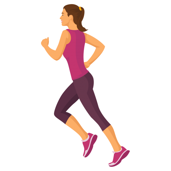 Png Of Girl Running - Running Girl Clipart PNG Free Download searchpng.com