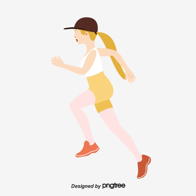 Png Of Girl Running - Running Girl PNG Images | Vectors and PSD Files | Free Download on ...