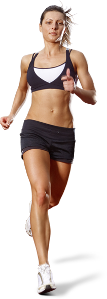 Png Of Girl Running - Running man PNG image, running woman PNG free download