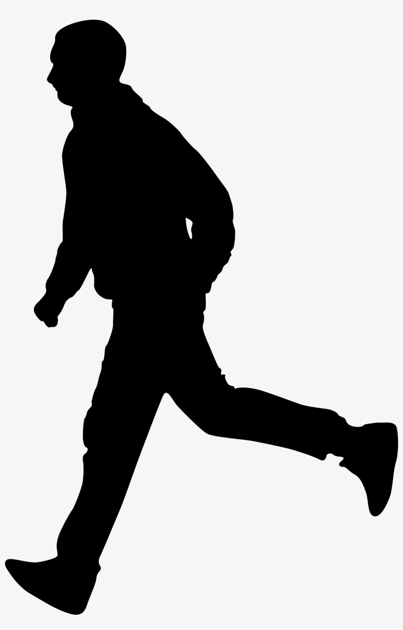Running Person Png - Man Shadow Png - Fr #368470 - PNG