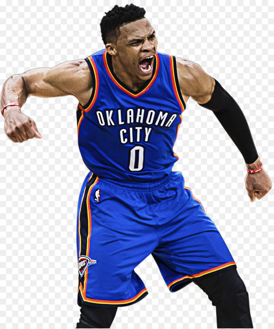Russell Westbrook Png Hd - Russell Westbrook clipart - Basketball, Clothing, Uniform ...