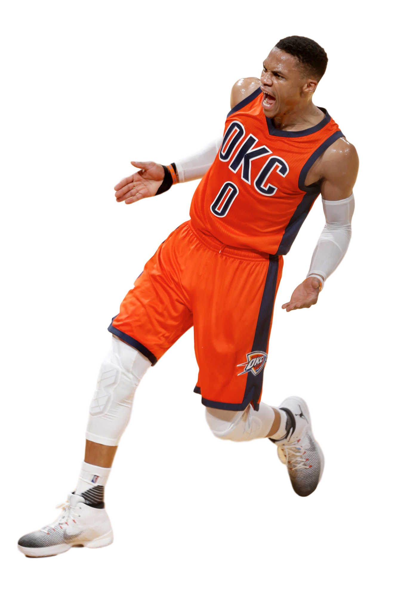 Russell Westbrook Png Hd - Russell Westbrook Face Png #505214 - PNG Images - PNGio