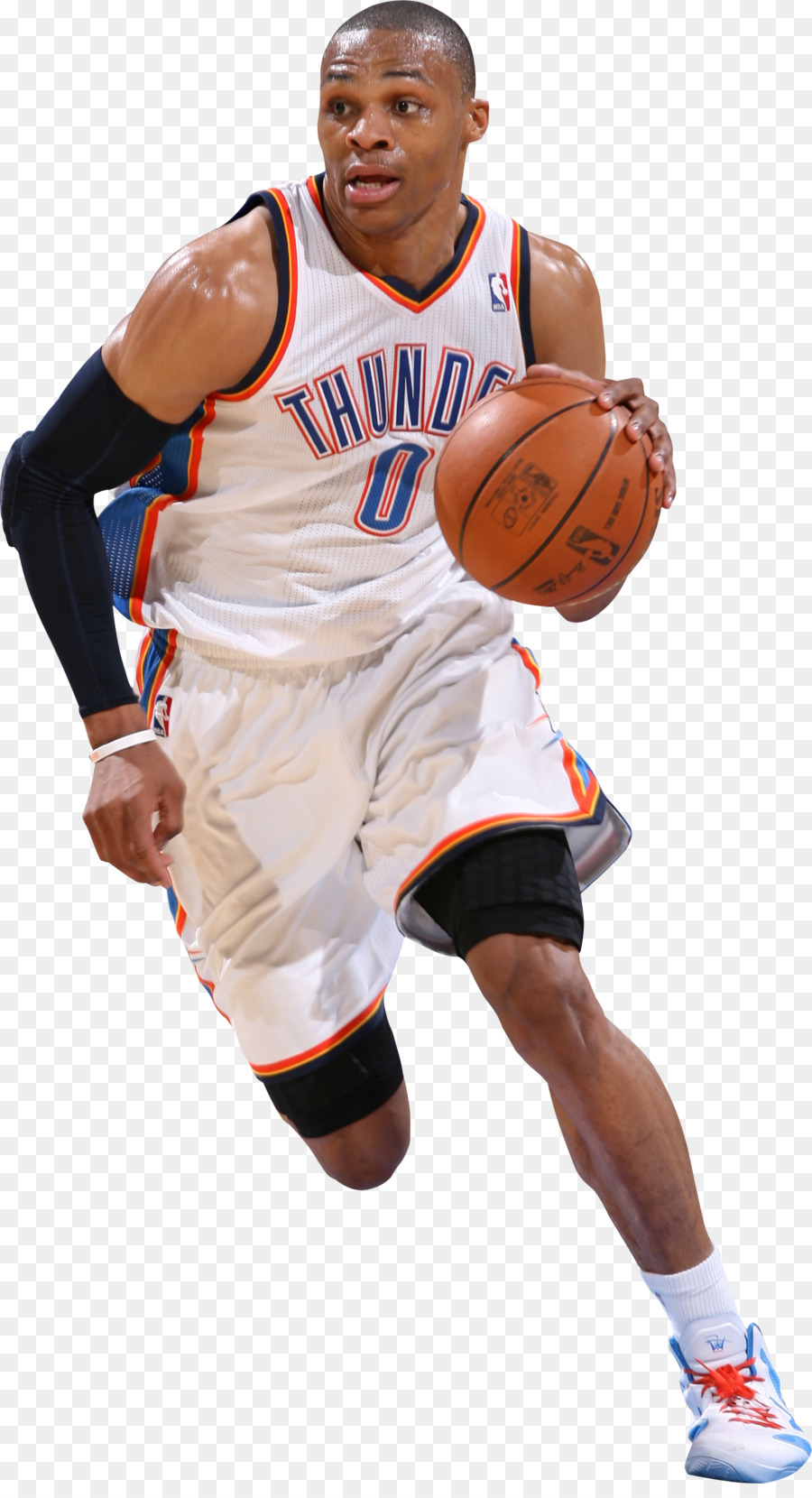 Russell Westbrook Png Hd - Russell Westbrook Oklahoma City Thunder #505210 - PNG Images - PNGio