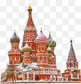 Russia Landmarks Png - Russia Building Clipart