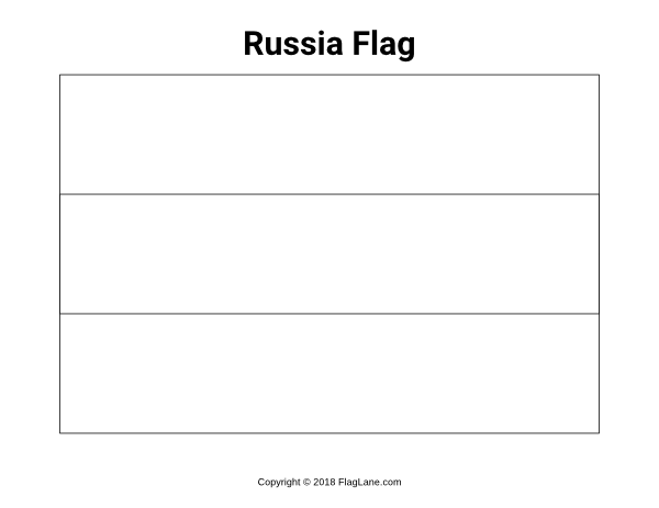 - Russian Flag Printable Coloring Pages - #2406716 - PNG Images - PNGio