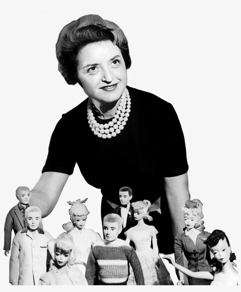 Ruth Handler Png - Ruth - Ruth Handler Young - Free Transparent PNG Download - PNGkey