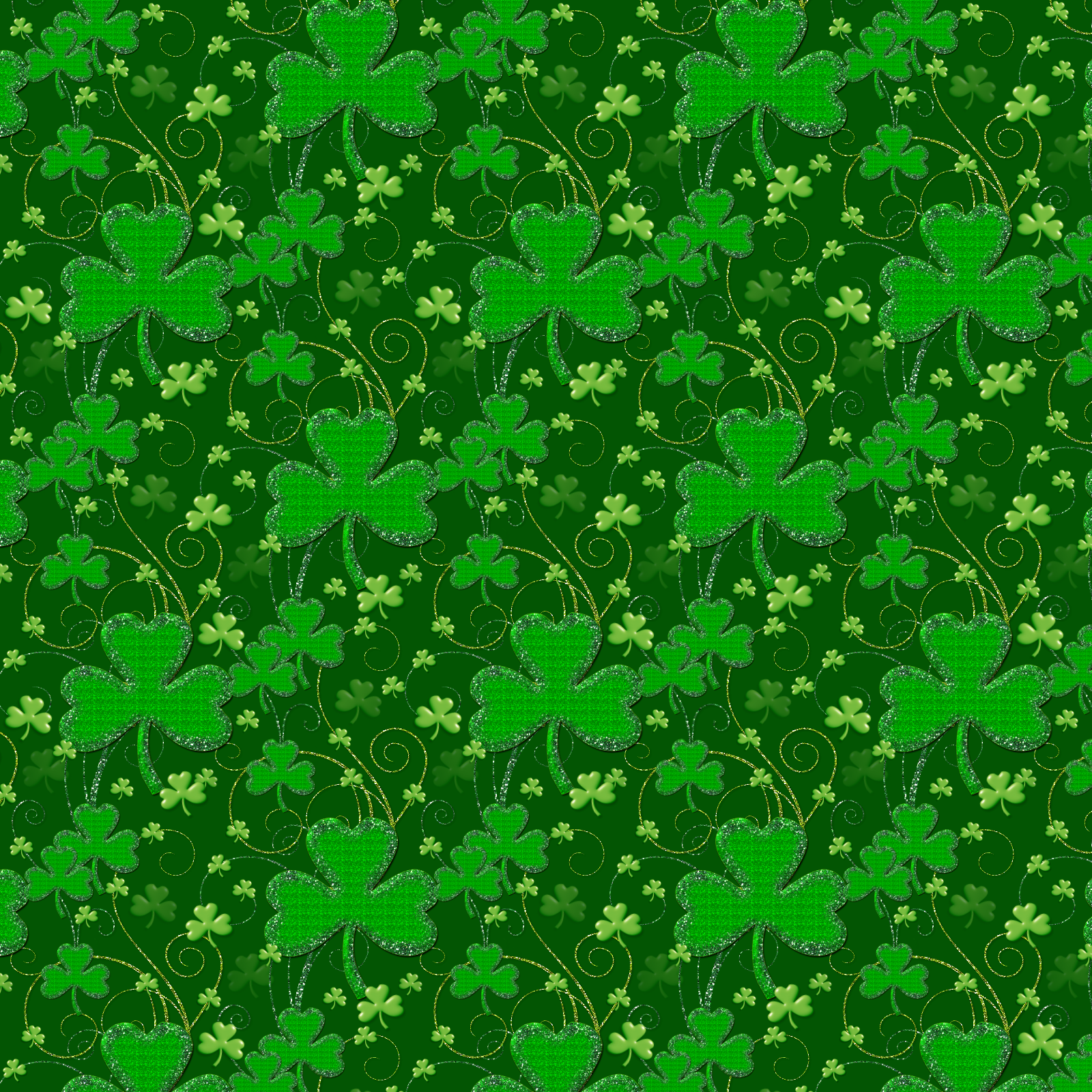Clover Background Png - Saint Patrick Clover Background | Gallery Yopriceville - High ...