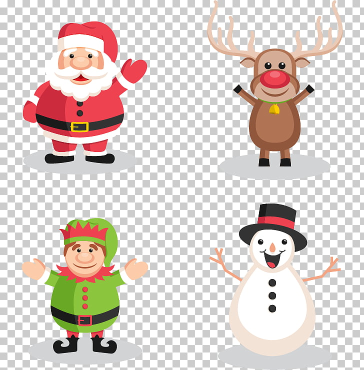 Christmas Characters Png & Free