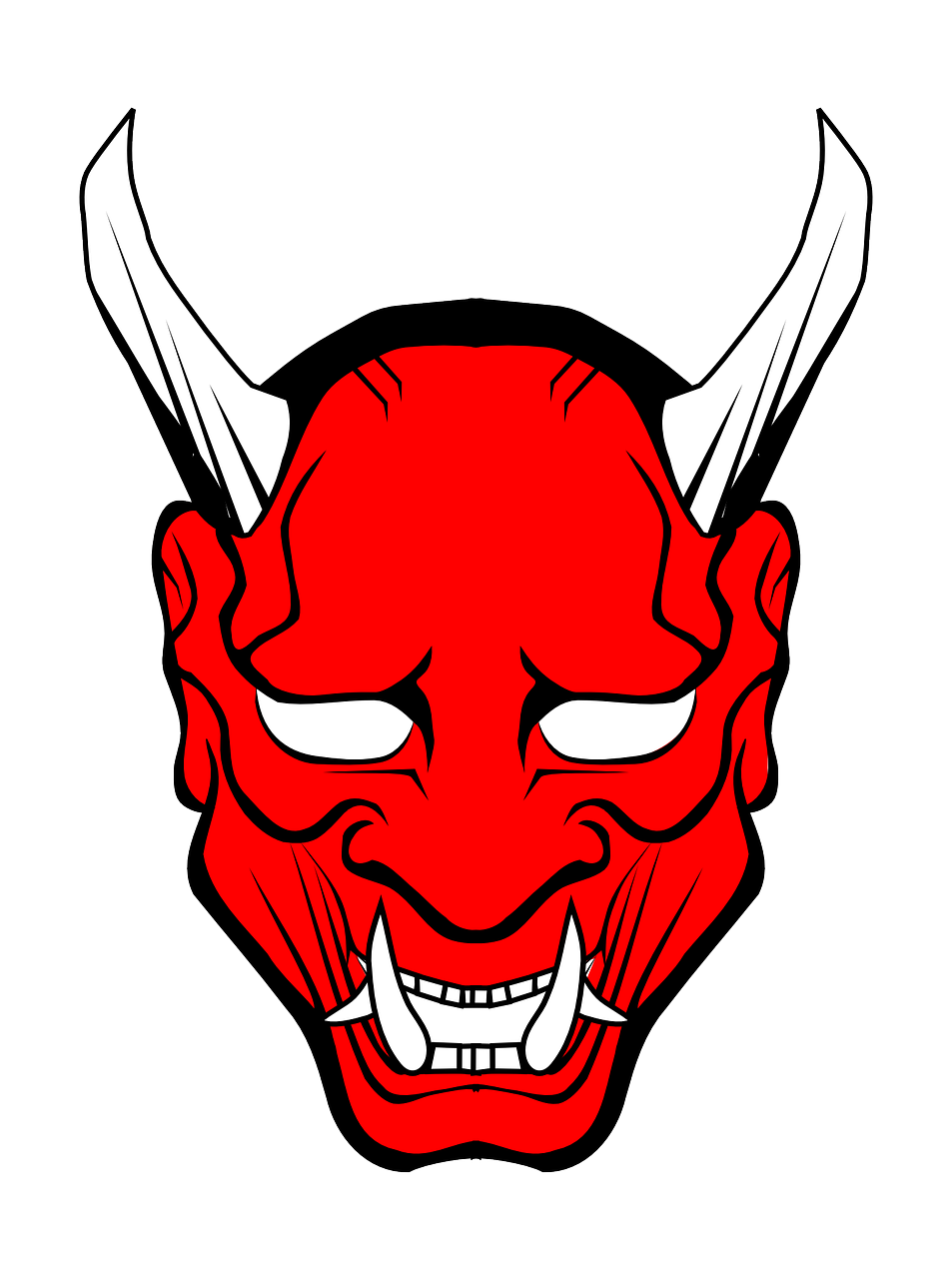 Oni Demon Png - Satanism: What's that all about | Oni mask, Japanese demon mask ...