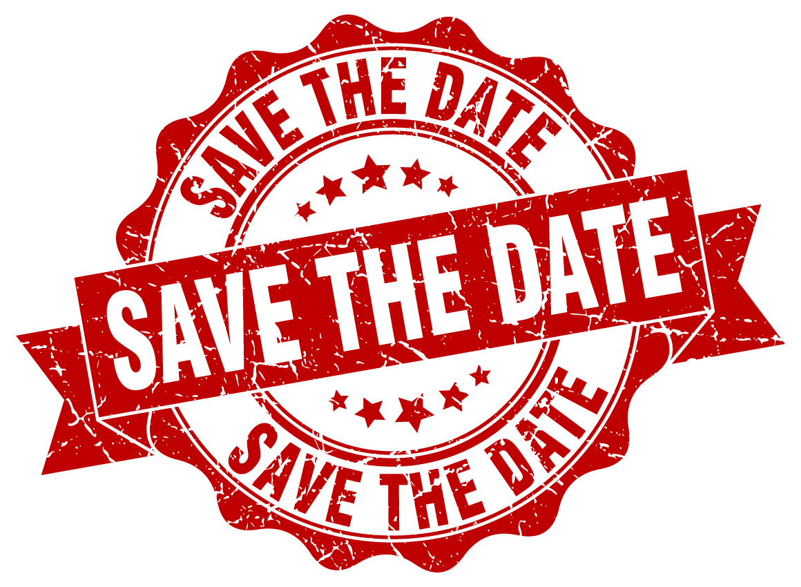 Save The Date Stamp Png - save-the-date - San Dimas Sheriff's Boosters