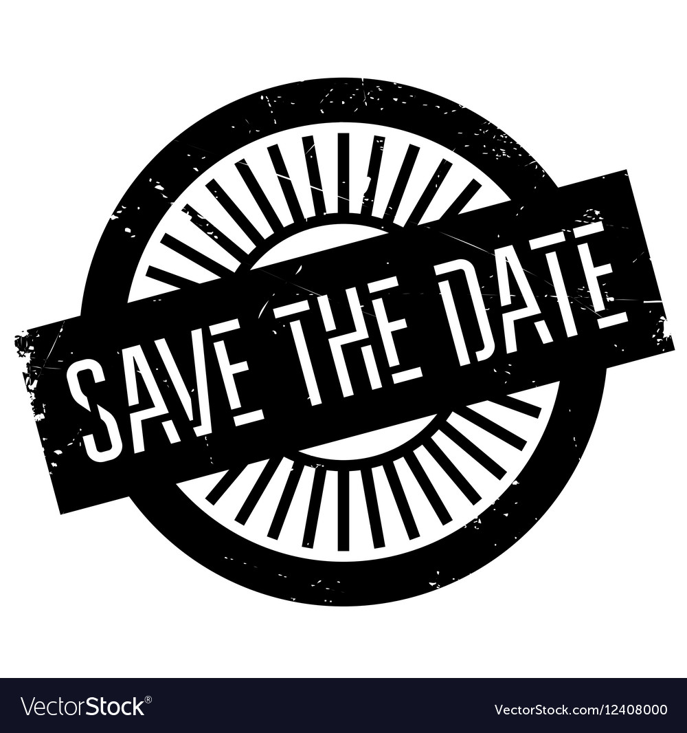Save The Date Stamp Png - Save the date stamp Royalty Free Vector Image - VectorStock