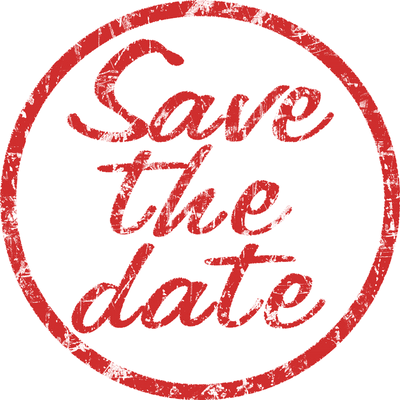 Save The Date Stamp Png - Save the Date Stamp transparent PNG - StickPNG