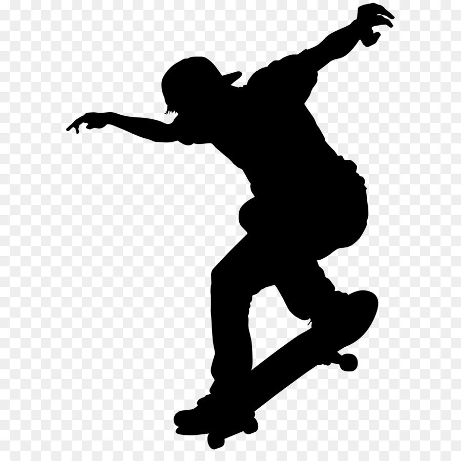 Boy Ice Skaters Png - Scalable Vector Graphics Ice skating - Skater Boy Silhouette PNG ...