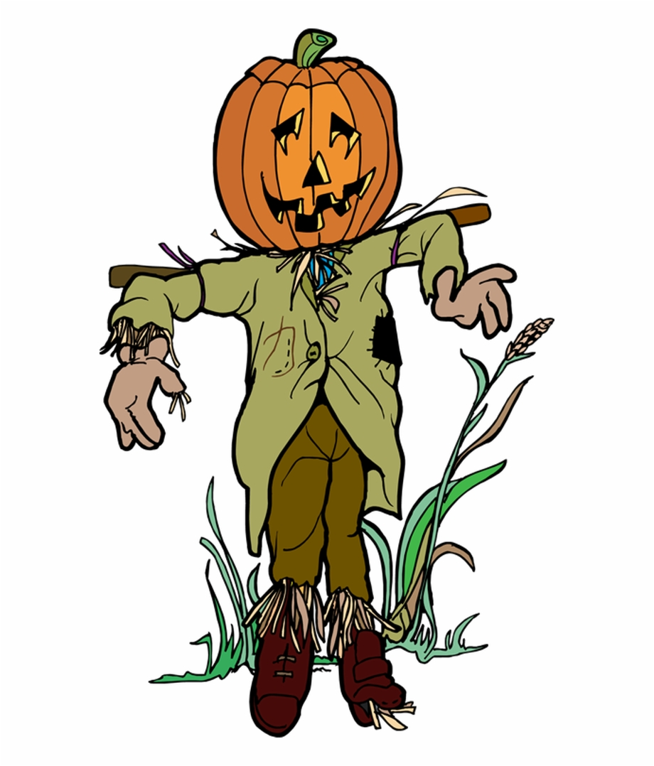 Scarecrows And Pumpkins Png - Scarecrow And Pumpkin Religious Clipart Library Rr - Halloween ...